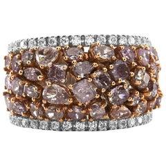 2.97 Carat Natural Pink Diamond Cocktail Ring