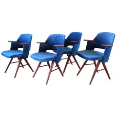 29th Century Teak Dining Chairs by Cees Braakman for Pastoe, 1960 Set of 4