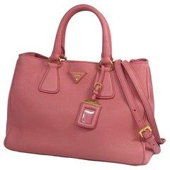 2WAY  shoulder bag  Womens  handbag  pink x gold hardware Leather