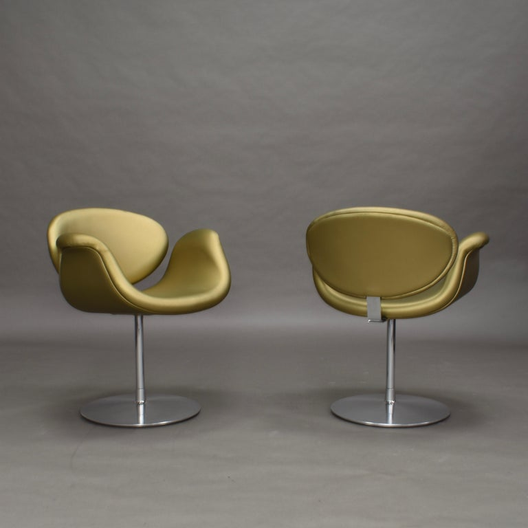 2 Limited Edition Pierre Paulin Tulip Swivel Armchairs for Artifort, 1965 In Good Condition For Sale In Pijnacker, Zuid-Holland
