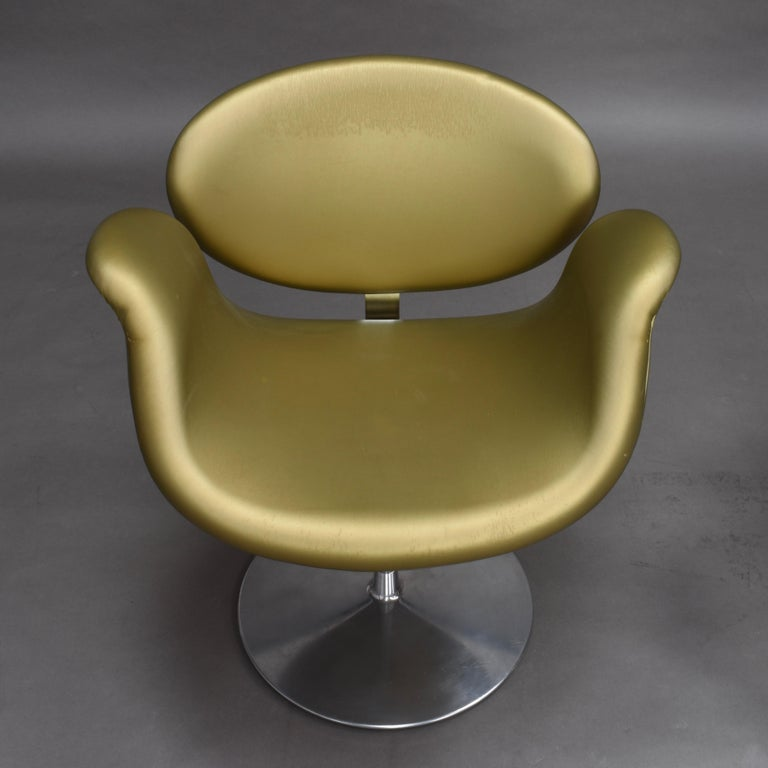 2 Limited Edition Pierre Paulin Tulip Swivel Armchairs for Artifort, 1965 For Sale 2