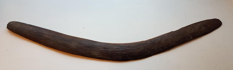 Hand-Carved 3 19th Century West Australian Boomerangs For Sale