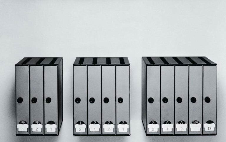 Polished 3-4-5 Mailbox by Lluís Clotet & Oscar Tusquets Blanca for BD Barcelona For Sale