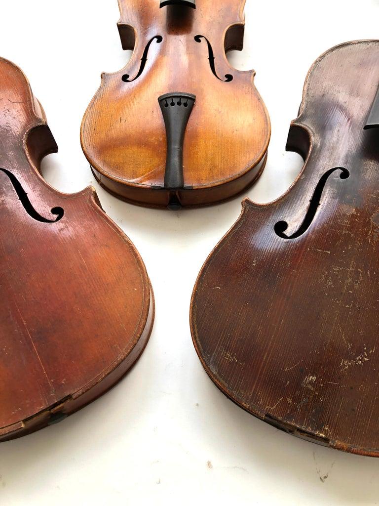 Unknown 3 Antique Violins For Sale