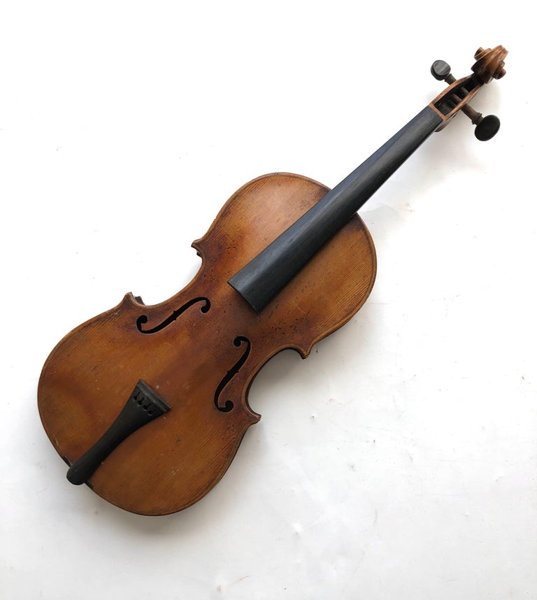 Mid-20th Century 3 Antique Violins For Sale