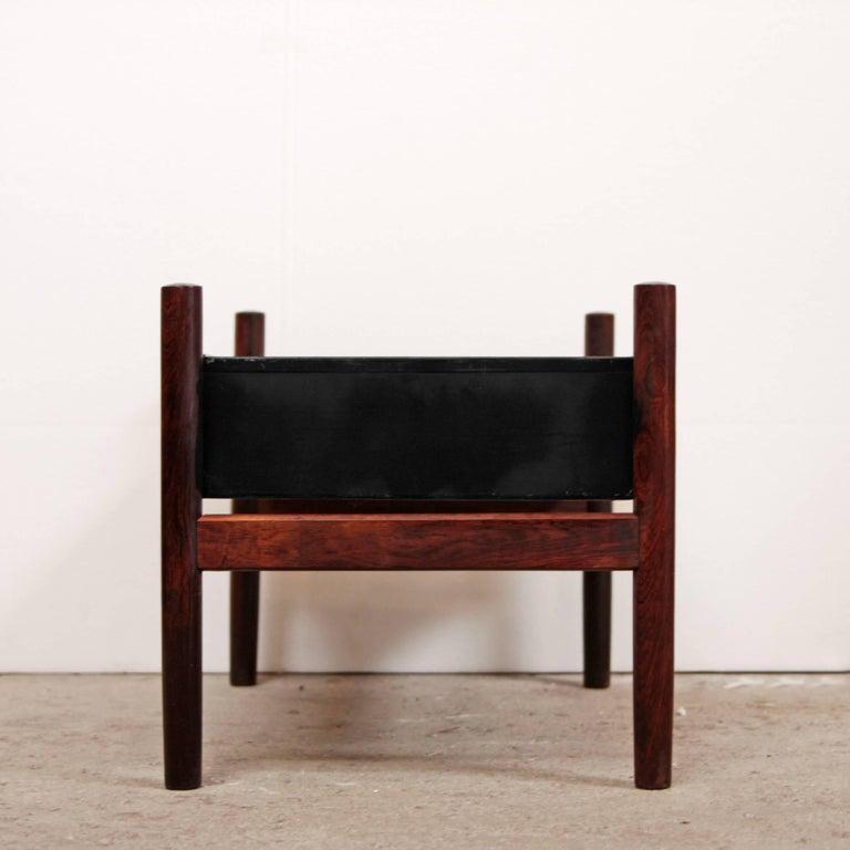 20th Century Danish Modern Rosewood Planter For Sale