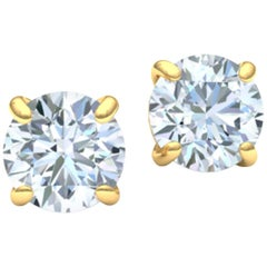 3 Carat Diamond Stud Earrings