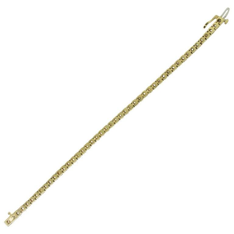 3 Carat Diamond Tennis Bracelet For Sale