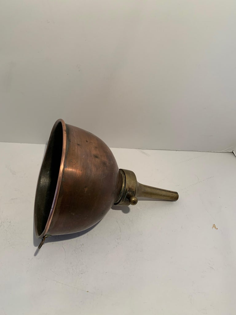 3 Copper Funnels For Sale 4