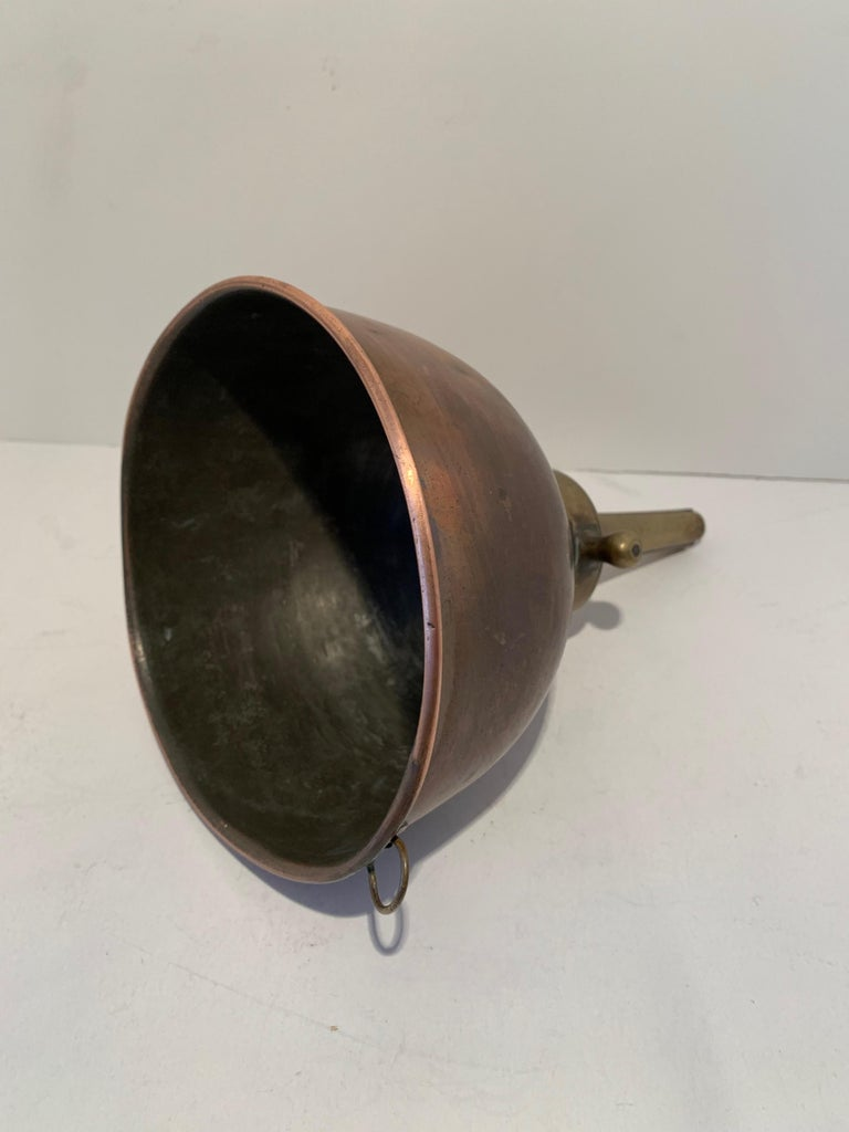 3 Copper Funnels For Sale 2