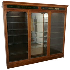 Edwardian Apothecary Cabinets