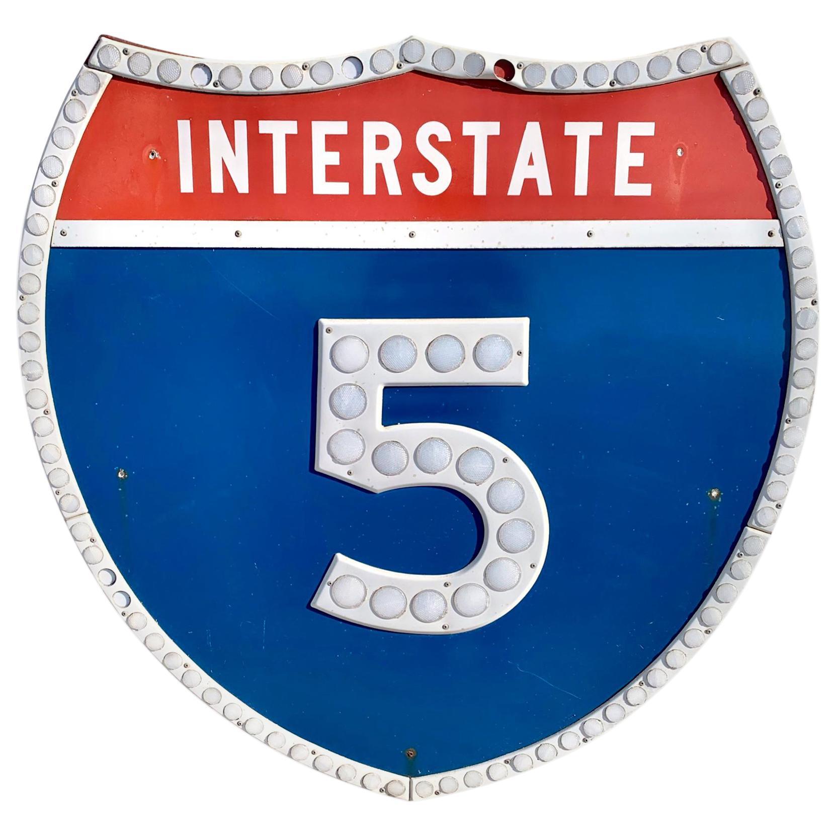 Los Angeles 5 Freeway Shield