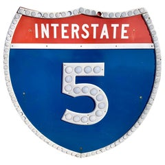 Los Angeles 5 Freeway Shield