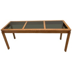 3 Glass Panel Floating Entry Console