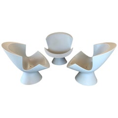 3 Karim Rashid Kite Chairs 2004 for Label