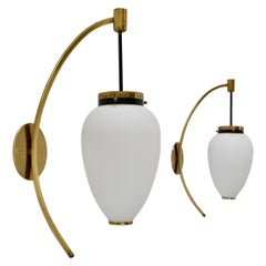 (7) Large Stilnovo Sconces