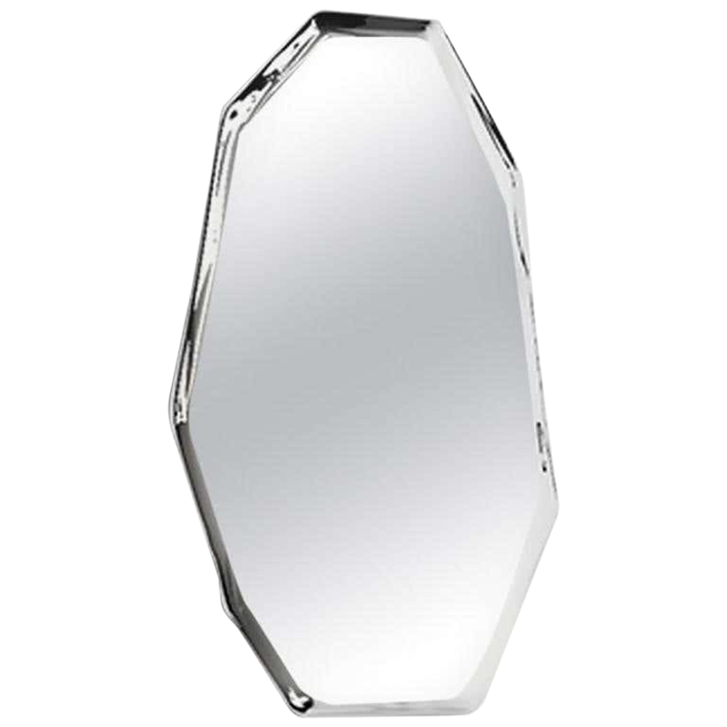 3, Limited Edition Polished Stainless Steel Wall Mirror