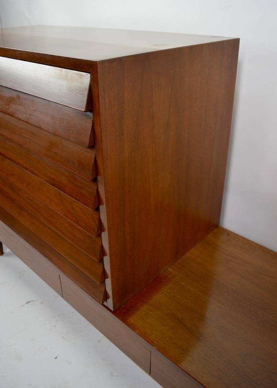 Three-Piece Merton Gershon Design for American of Martinsville Server Sideboard For Sale 5