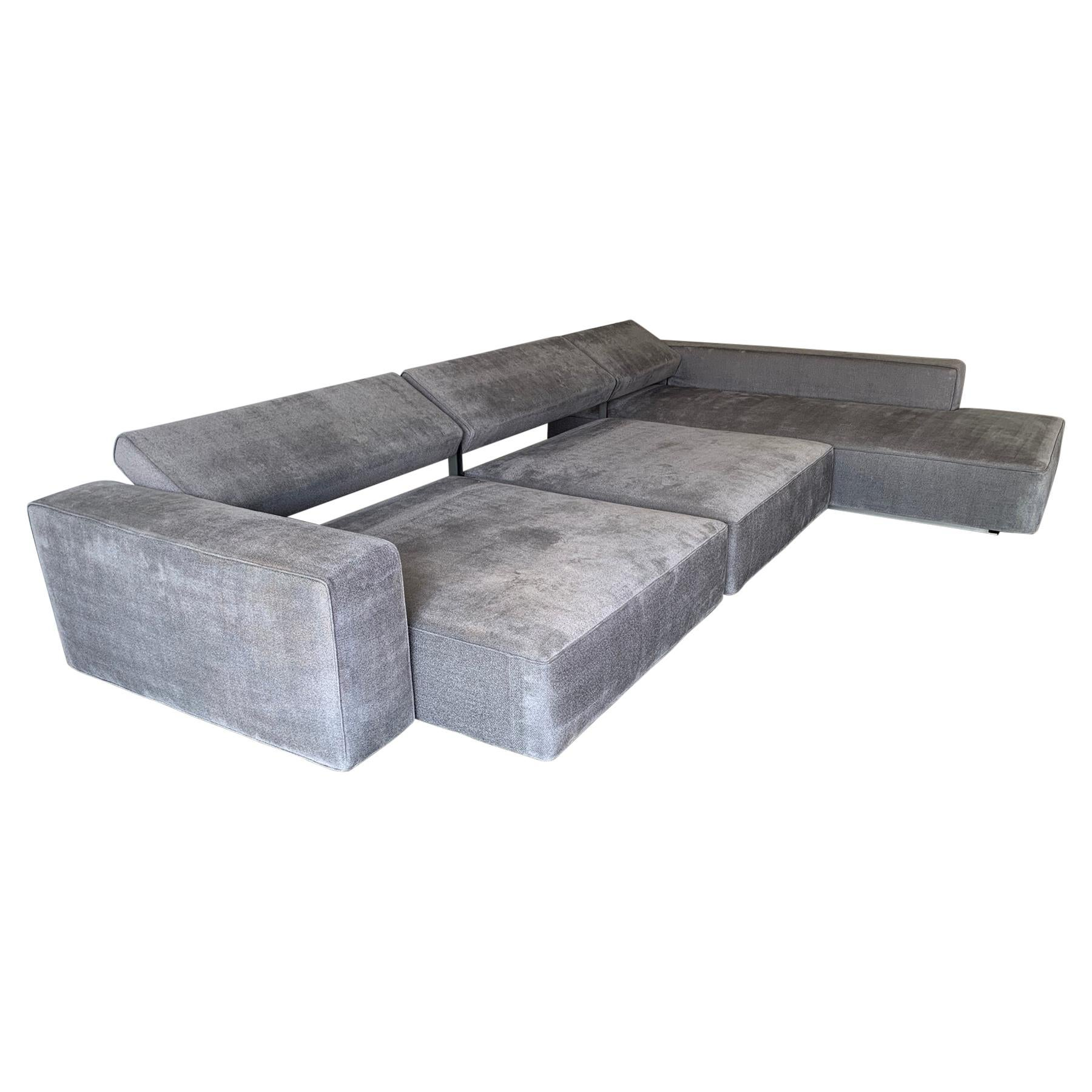 3 Piece Andy Sectional by Paolo Piva for B&B Italia