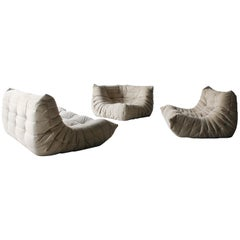 3-Piece Togo Sofa Sectional by Ligne Roset