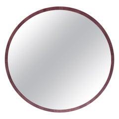 """""""3' Round Wall Mirror"""" by Studio Craft Artist Adam Zimmerman, 21st Century"""