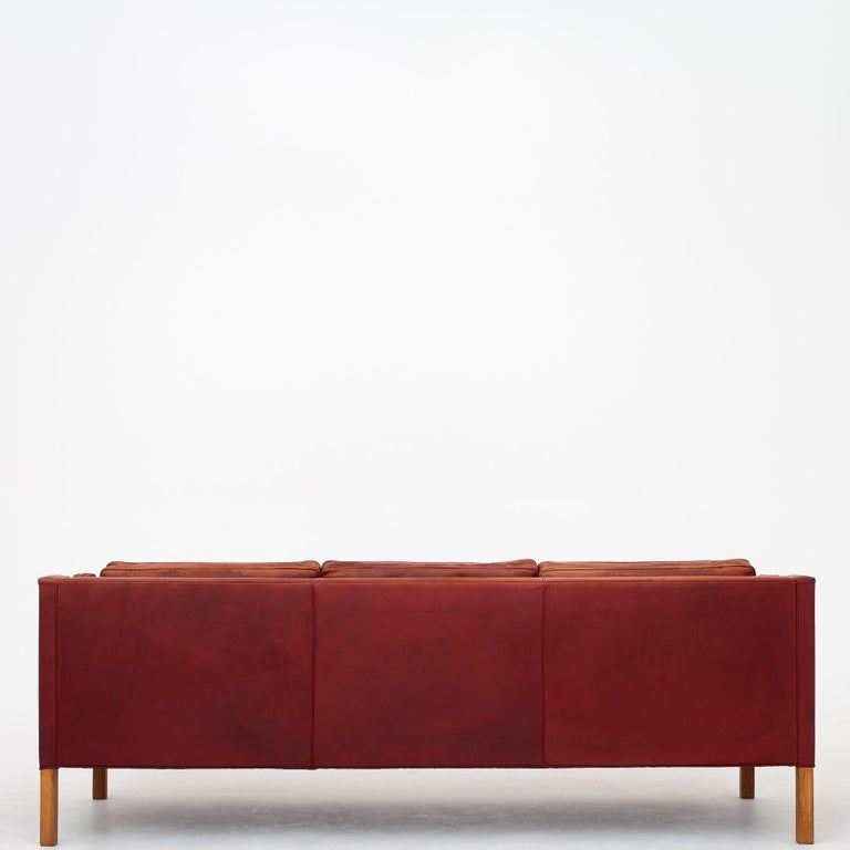 Scandinavian Modern 3-Seat by Børge Mogensen For Sale