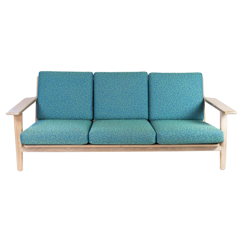 3 Seater Sofa, Model GE290, in Oak by Hans J. Wegner, 1960s
