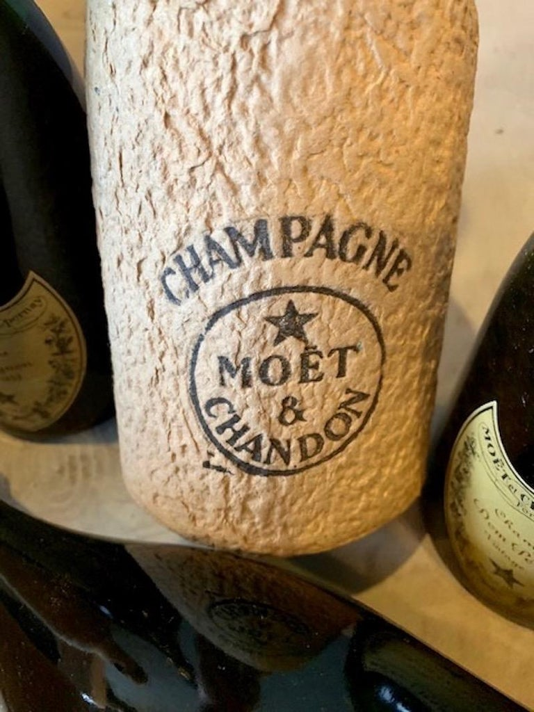 3 Unopened Bottles of Dom Perignon, 1952 and 1955 For Sale 1