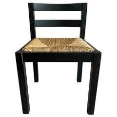 3 Wenge/Black Martin Visser for 't Spectrum Chairs, 1960's