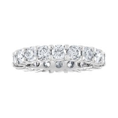 3.00 Carat Diamond Eternity Gold Ring