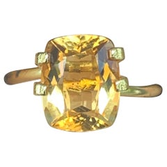 3.00 Carat Yellow Citrine Loose Gemstone