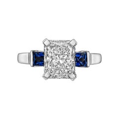 3.00ct Radiant-Cut Diamond Ring 'D/VS2'