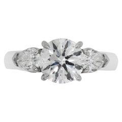 3.01 Carat GIA Certified Engagement Ring