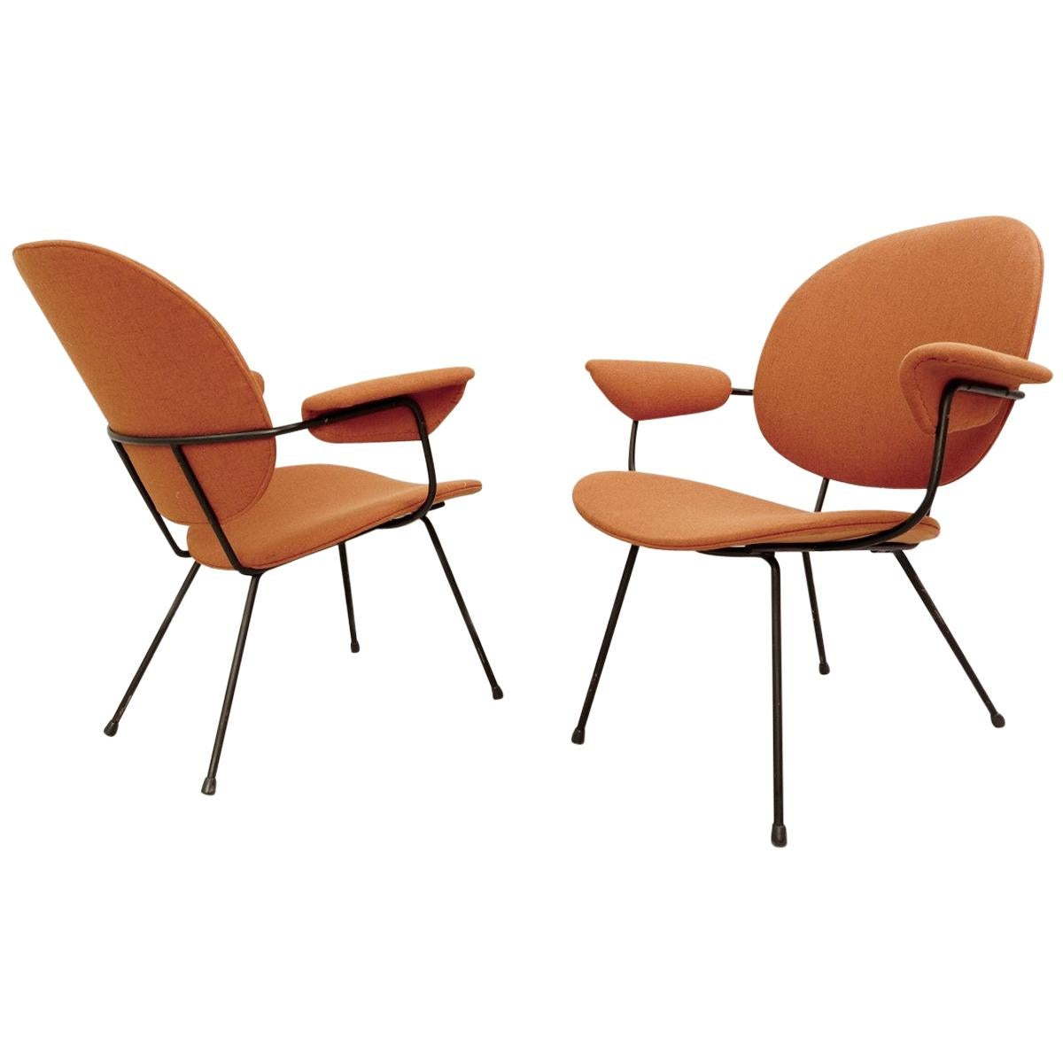 302 Armchairs by Willem Hendrik Gispen for Kembo, 1950s