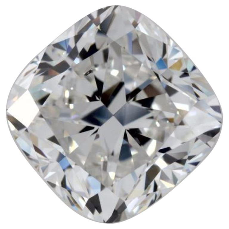 3 05 Carat Cushion Cut Natural Loose Diamond F Si1 Gia Certified