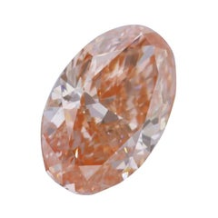 3.08 Carat Oval Cut Pink Diamond VS1, GIA Certified Natural Mined