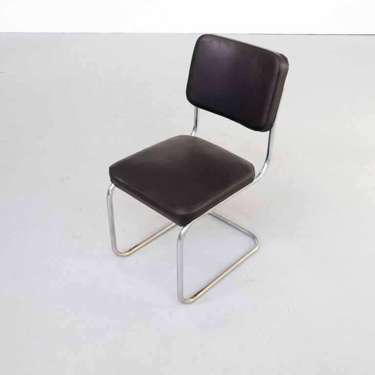 30s Mart Stam Cantilever Chair for Mauser Waldeck Set/2 For Sale 1