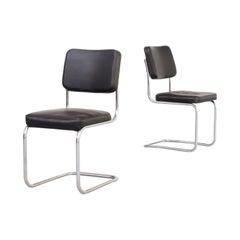 30s Mart Stam Cantilever Chair for Mauser Waldeck Set/2