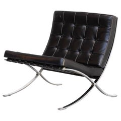 1930s Mies van der Rohe 'Barcelona' Chair for Knoll