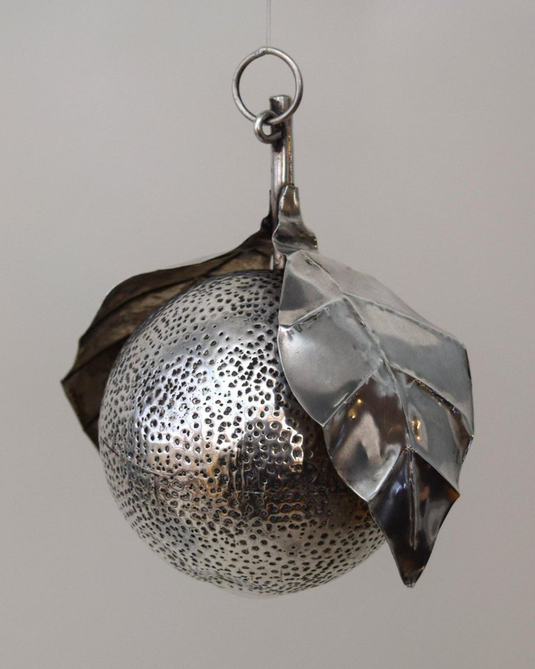 19th Century 31 Brazilian Silver Amulets For Sale
