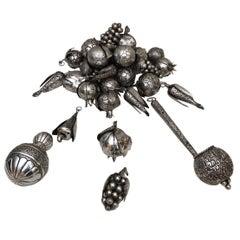 31 Brazilian Silver Amulets