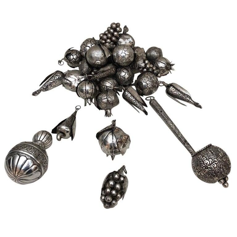 31 Brazilian Silver Amulets For Sale