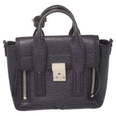 3.1 Phillip Lim Antique Purple Leather Mini Pashli Satchel