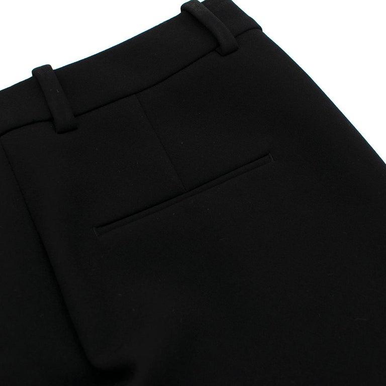 3.1 Phillip Lim Black Lasercut Bermuda Shorts 0 US In Excellent Condition For Sale In London, GB