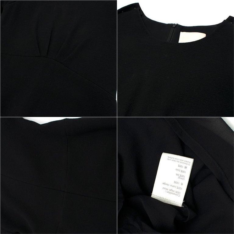 3.1 Phillip Lim Black Studded Sleeve Dress US 8 For Sale 5