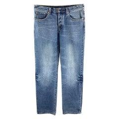 3.1 PHILLIP LIM Size 33 Indigo Wash Denim Jeans