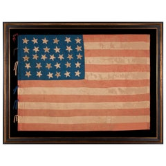 31 Star American Flag, Made of Silk, California Statehood