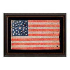 31 Star, California Statehood, Antique American Flag