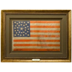 31-Star Great Star Parade Flag Celebrating California Statehood, circa 1851