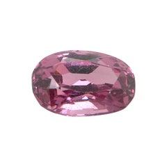 3.18 Carat Oval-Cut Unheated Burmese Pink-Purple Spinel